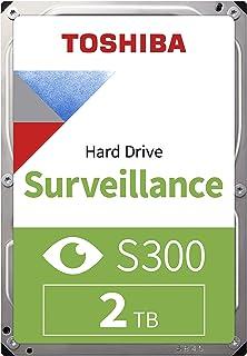 Toshiba S300 2 to Disque Dur Interne HDD pour Surveillance - Bulk (3,5 Pouces SATA 6 Gbit/s 5400 TR/Min 128 Mo de mémoire ...