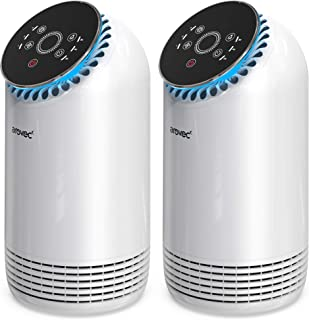 Arovec™ H13 True HEPA Air Purifier, Portable Air Fresher and Cleaner with 4-layer Filter, 3 Fan Speed, Quiet Operation, To...
