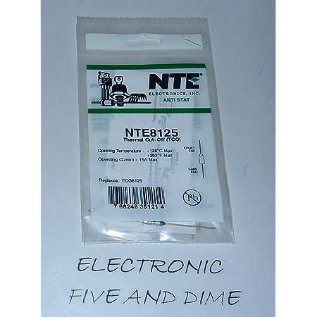 77176;C Fuse 15 A NTE ELECTRONICS 277 V Axial Leaded Thermal Cutoff NTE8076