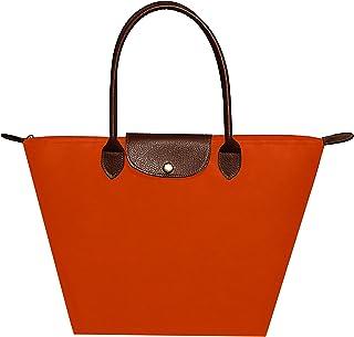 63088529d1 Febbya Cabas,Femme Sacs à Main de Courses Imperméables Pochettes Pliable  pour Shopping Plage Voyage