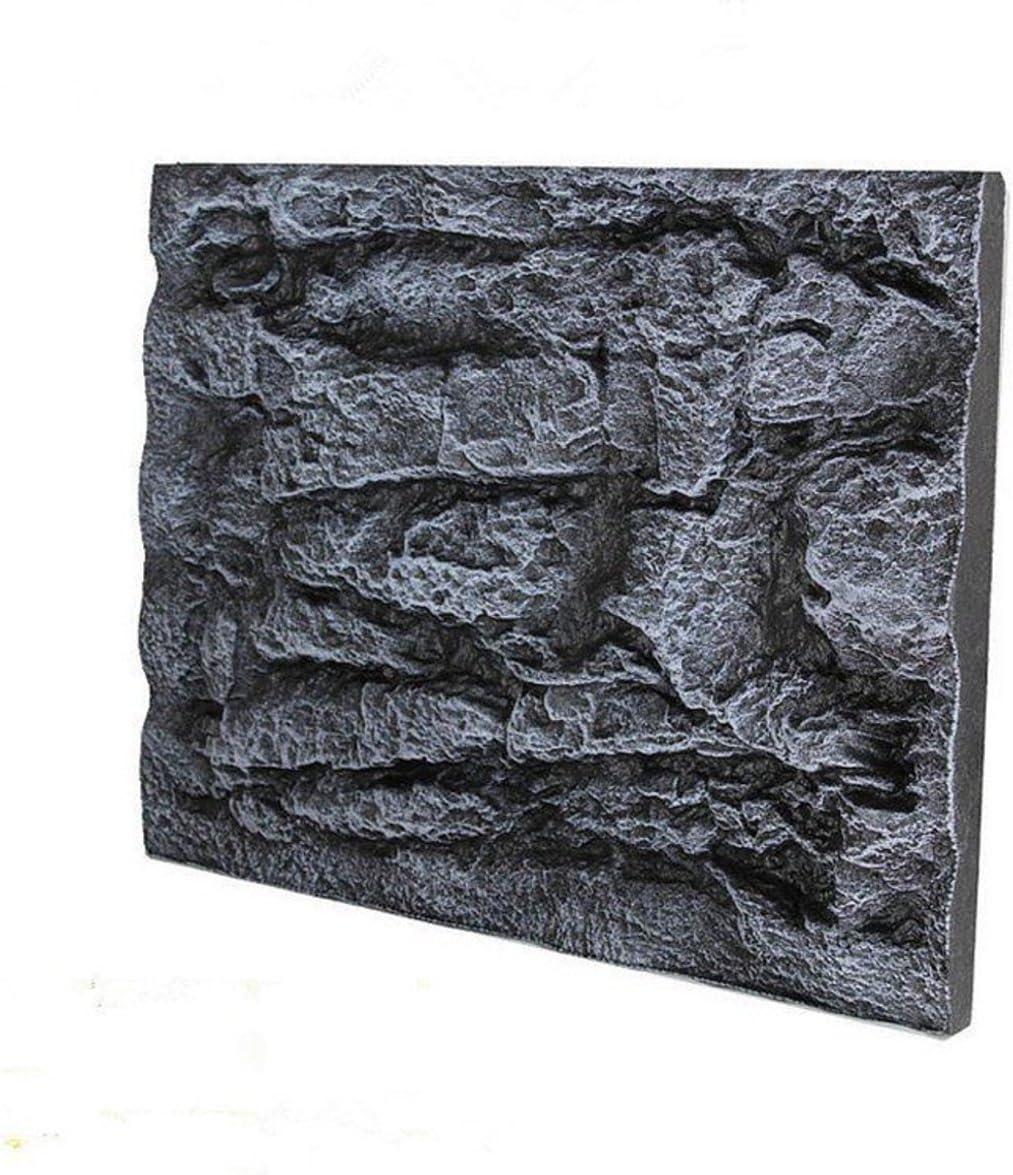 Home and Gardent 60X45cm 2pcs 3D Reptile Back Foam Rock free shipping Ranking TOP12 Aquarium