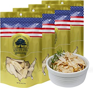 DOL American Ginseng Slice 4oz/Bag(4Bags) from Wisconsin 花旗参片/西洋参片 (Sliced Ginseng Root)113g/Bag