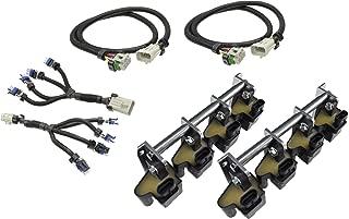 Michigan Motorsports D581 LQ4 LM7 Truck Square Coil Relocation Bracket and Harness Kit LS Swap LSX 551583 Billet