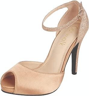 Catwalk Women's Ankle Strap Stilettos