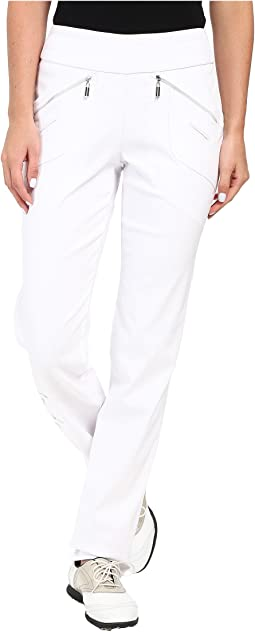 Skinnylicious 41.5 in. Pant with Control Top Mesh Panel