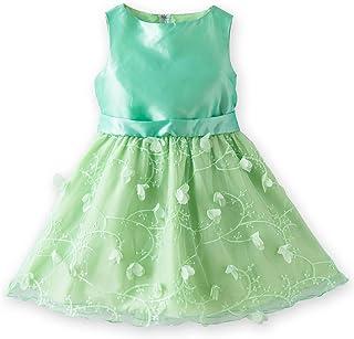 (キャサリンコテージ) Catherine Cottage子供服 CC0445 花びら刺繍ドレス