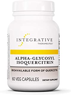Integrative Therapeutics - Alpha-Glycosyl Isoquercitrin - Bioavailable Form of Quercetin - 60 Capsules
