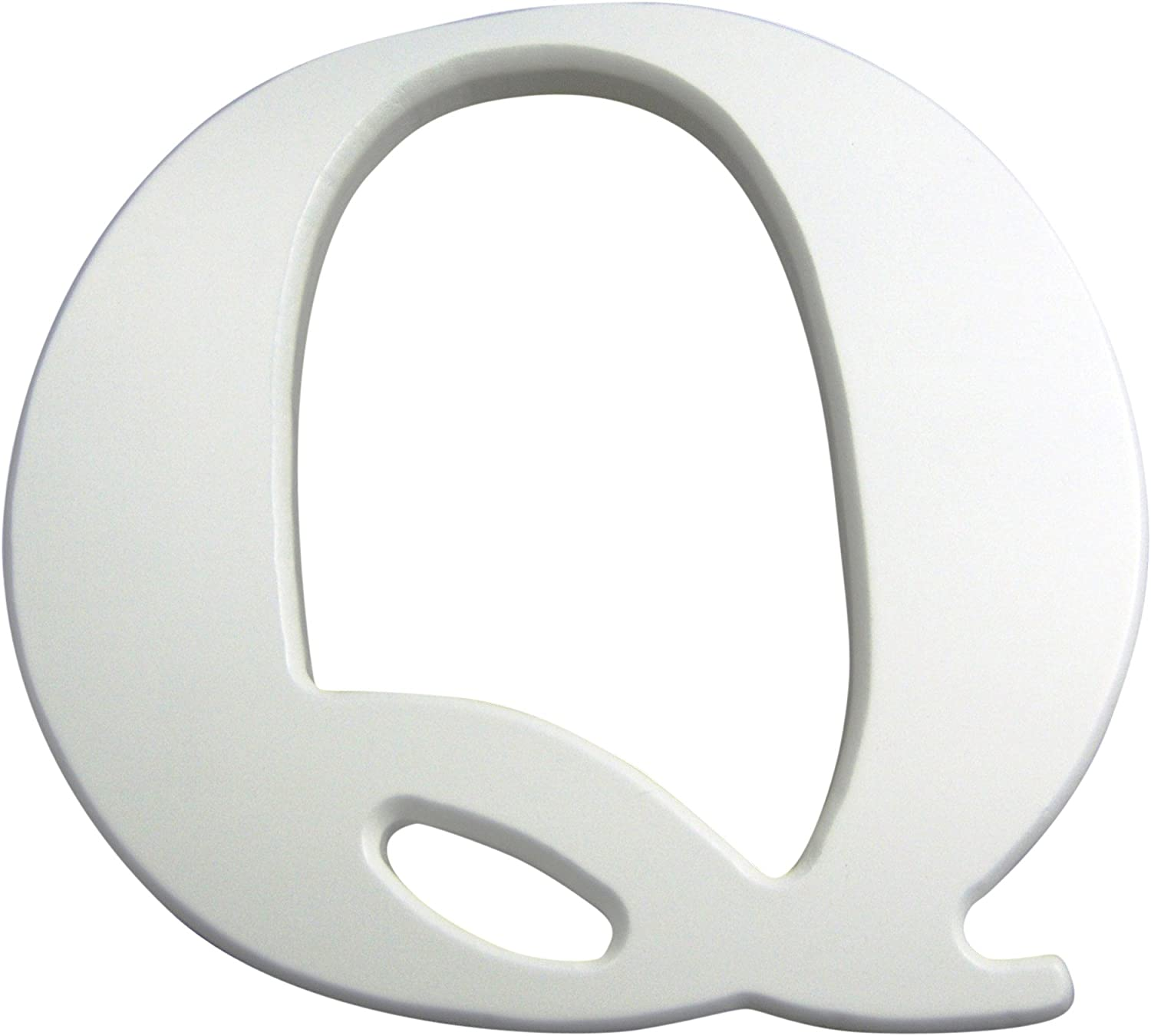 Kids Line Capital Letter Q White MDF Timber Finish K with Popular overseas Surprise price