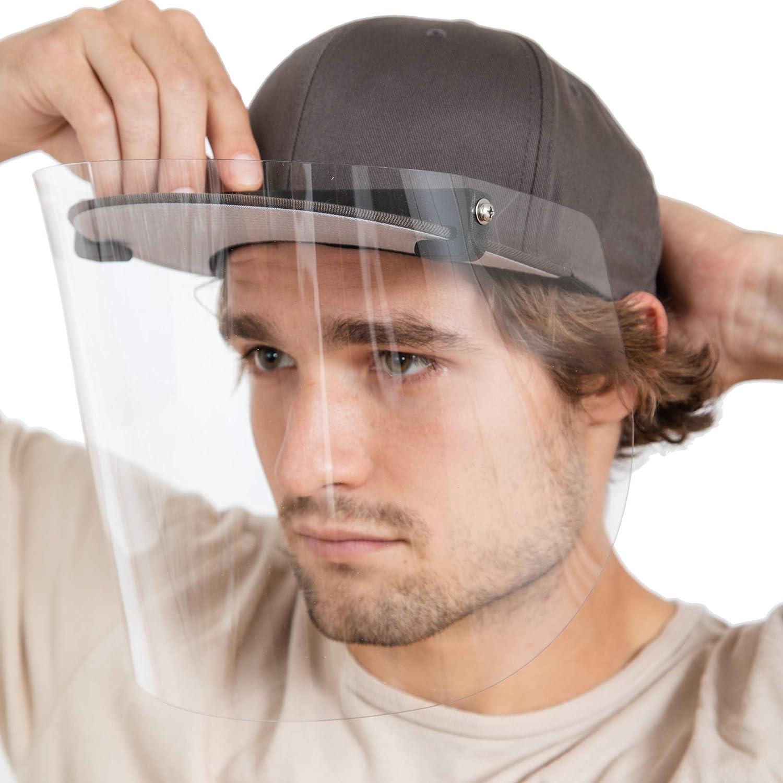 Prime Beauty products mart Manufacturers HatShield Flip Flat Face Black Shield Brim