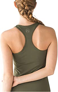 Workout Clothes for Women - Activewear Racerback Tank Top for High Waisted Jeans/Leggings with Graphic Design by Become.