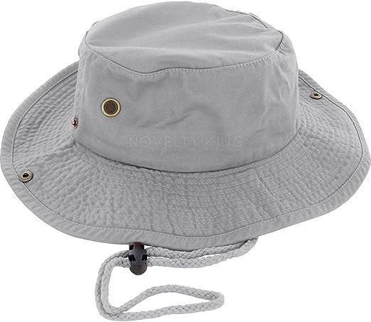 NDFGR Sierra-Leone Unisex Cotton Packable Black Travel Bucket Hat Fishing Cap