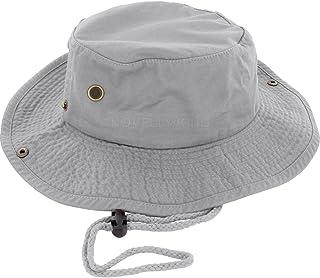 DealStock 100% Cotton Boonie Fishing Bucket Men Safari Summer String Hat Cap  (15+ 19c6e2f99035