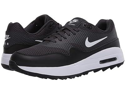 Nike Golf Air Max 1 G (Black/White/Anthracite/White) Women