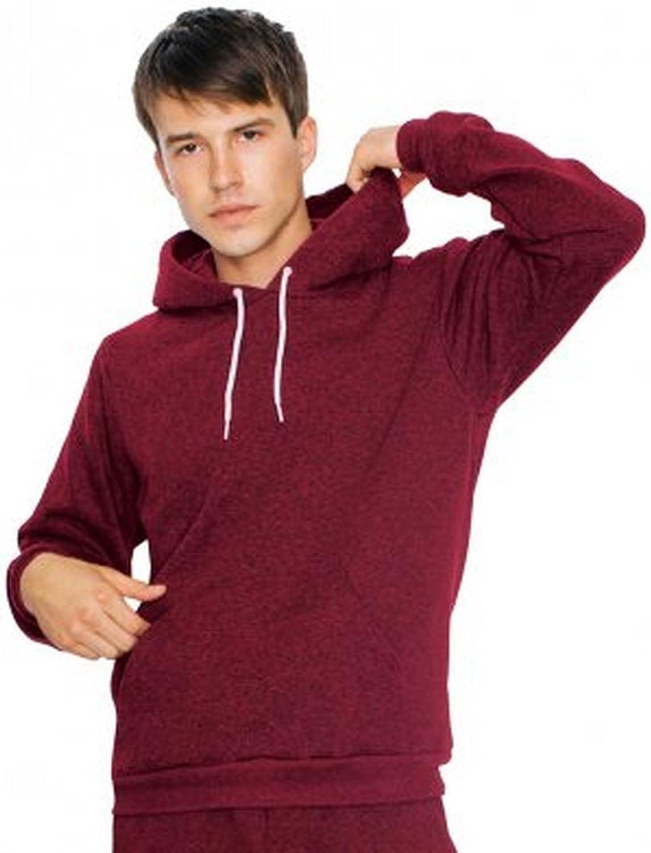 American Apparel Unisex Salt & Pepper Hooded Sweatshirt