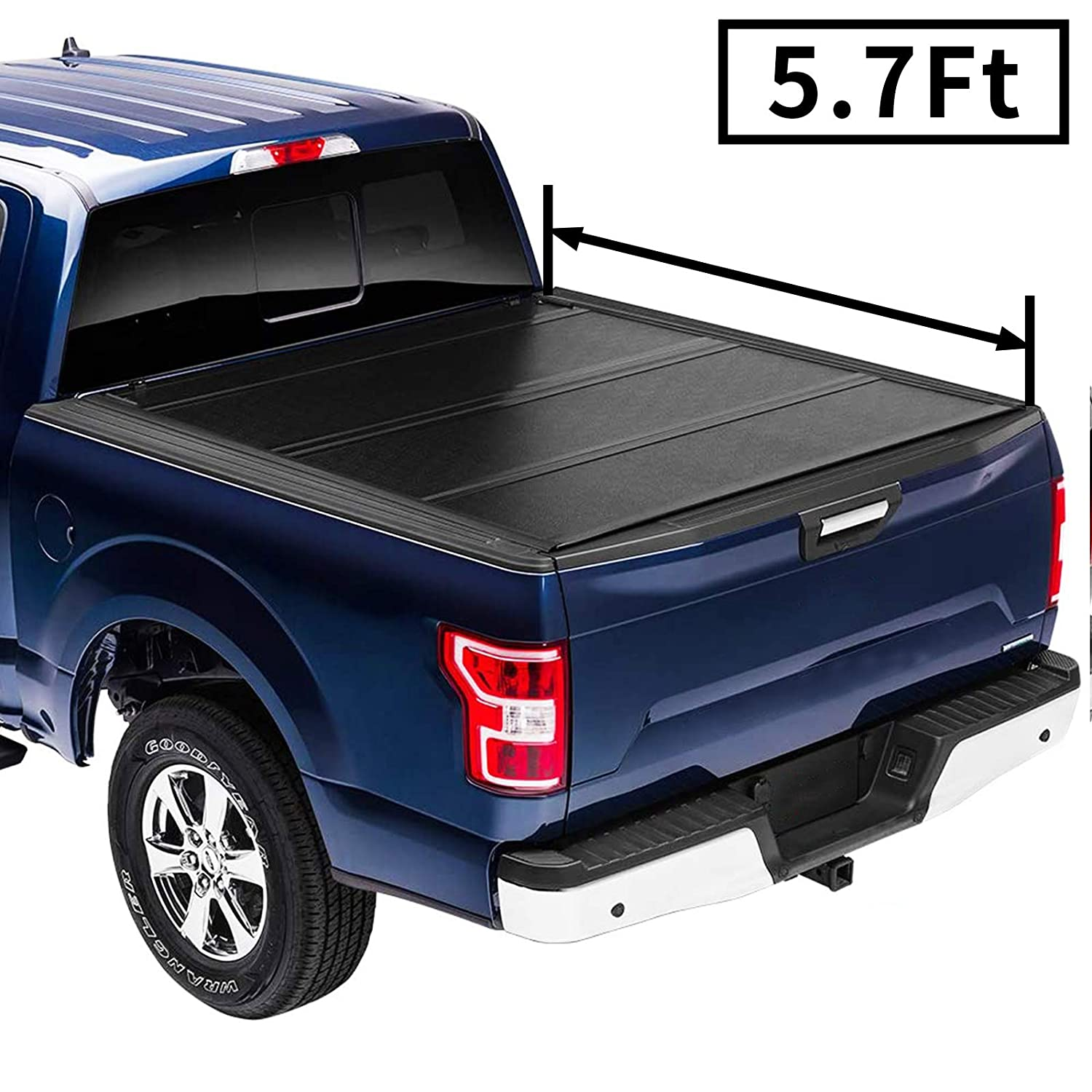 Flip Hard Folding Truck Houston Mall Bed Tonneau Cover DodgeRam 2019+ Fits Animer and price revision 5'