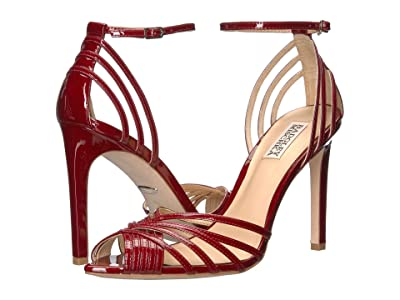 Badgley Mischka Andi (Red Patent Leather) High Heels