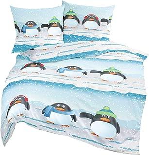 Bettw/äsche-Set f/ür Kleinkinder Motiv Lovely Pinguin