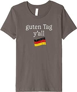 Kids Oktoberfest Shirt Youth Fest Funny Saying Texas German Flag