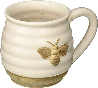 DEI Ceramic Mug, 5.5 x 4.25 x 4.0, Tan