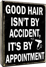 JennyGems - Good Hair Isnt By Accident Its By Appointment - Hair Dresser Decor - hair stylist gift - Beautician Gift - Hair Salon Decor - Hairapist, Barber Shop Decor, Barber gift, hairdresser acces