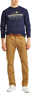 CHAPS Mens Big and Tall Stretch 5 Pocket Twill Pant