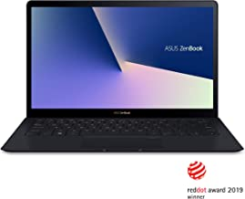 Asus ZenBook S UX391UA-XB74T Ultra-Thin and Light 13.3-Inch UHD 4K Touch Laptop, Intel Core i7-8550U, 16GB 2133MHz RAM, 51...
