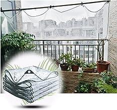 JIANFEI Transparant waterdicht dekzeil Tarp, buiten met oogjes regenhoes, Patio Heavy Duty PVC winddichte zachte film, 500...