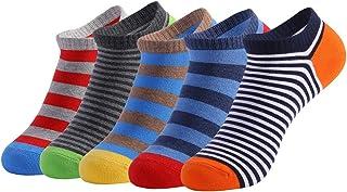Repuhand, 5 Pares Calcetines Cortos Hombre Calcetines de deporte Calcetines Hombre Casuales Divertidos Calcetines Corto de Colores