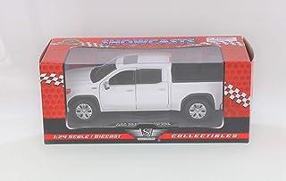 Motor Max 2019 GMC Sierra 1500 Denali Crew Cab Pickup Truck, White 79362WH - 1/27 Scale Diecast Model Toy Car