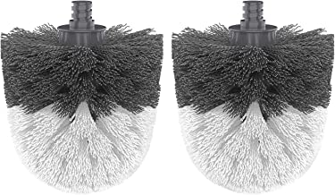 MR.SIGA Premium Toilet Bowl Brush Replacement Head, 2 Pack