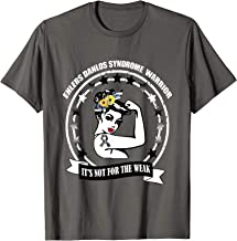 Ehlers Danlos Syndrome Tee warrior awareness zebra eds Gift T-Shirt