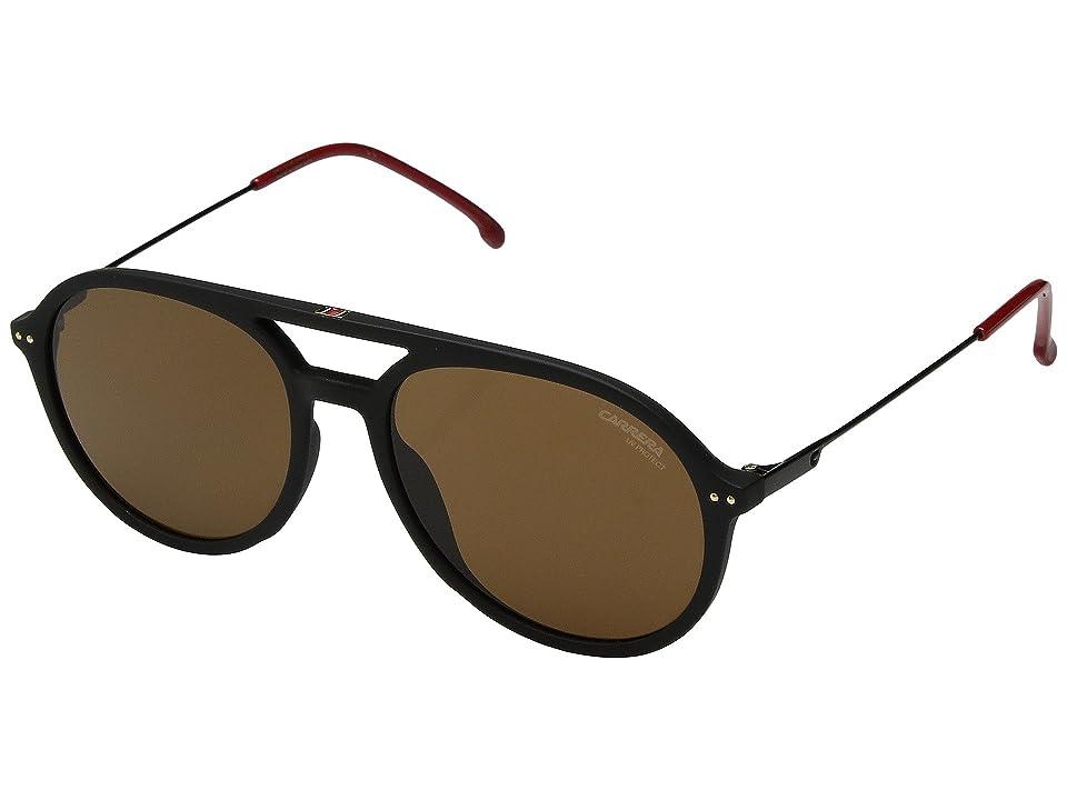 Carrera Carrera 2005T/S (Matte Black/Brown) Fashion Sunglasses