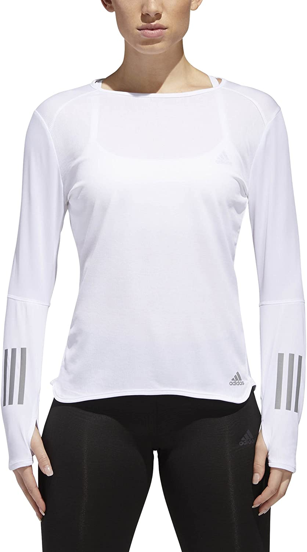 Amazon.com: adidas Women's Running Response Long sleeve Tee ...