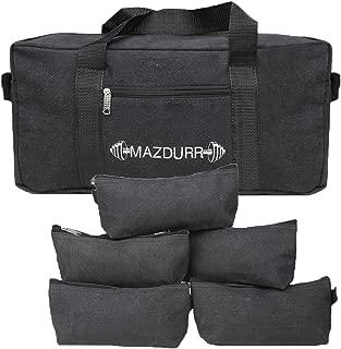 Canvas Tool Bag Heavy-Duty | Free Bonus: 5 Large Tool Zippered pouches | Jumbo Mechanic Tool Bag | Tactical Tool Bag 18 inches