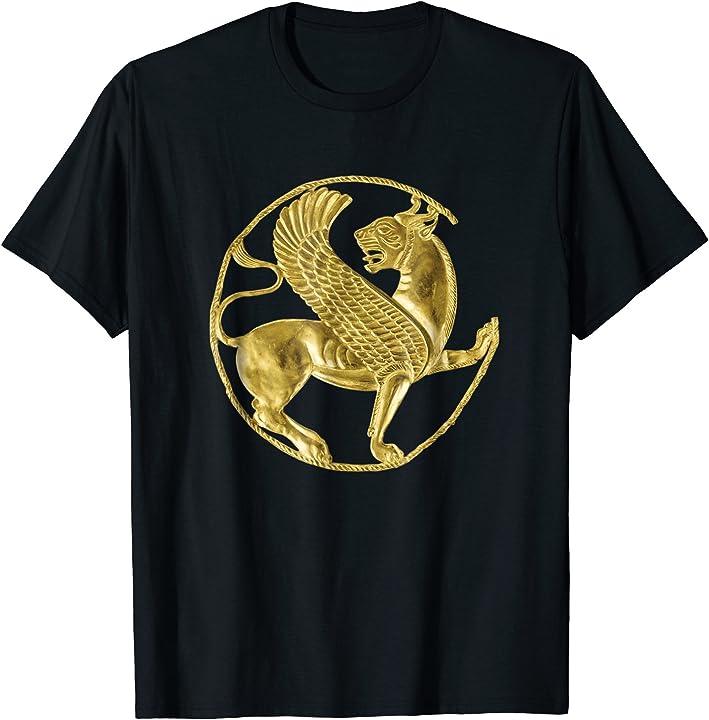 Persian Winged Lion Iranian Farsi Persia T-Shirt