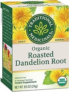 Wholesale Traditional Medicinals Organic Roasted Dandelion Root Tea - Caffeine Free - 16 Bags, [Food, Tea]