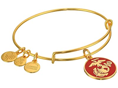 Alex and Ani US Marine Corps (Gold) Bracelet