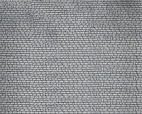 Faller FA170811 - Dekorplatte Profi Mauerplattensortiment, Zubehör für die Modelleisenbahn, Modellbau