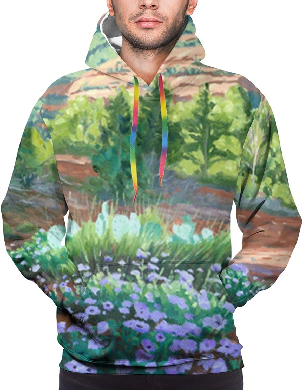 Verbena In Bloom Cotton 2021new shipping free Sweatshirt Hoodie Women Recommendation Ameri for or Men