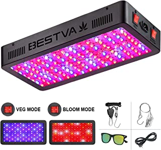 BESTVA DC Series 1500W LED Grow Light Full Spectrum Dual-Chip Growing Lamp for Hydroponic Indoor Plants Veg and Flower