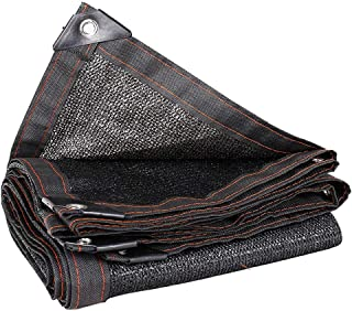 MAHFEI Shade Cloth Dust-proof Outdoor Cooling Anti-UV Breathable Foldable Hole Spacing 1 Meter High-density Polyethylene, ...