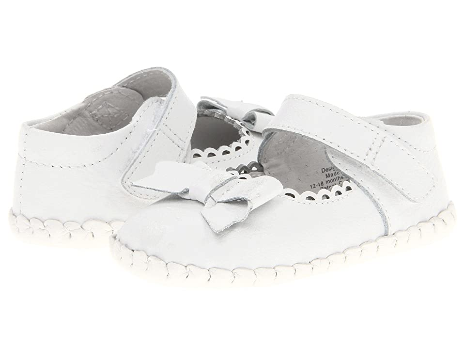 pediped Betty Original (Infant) (White) Girls Shoes