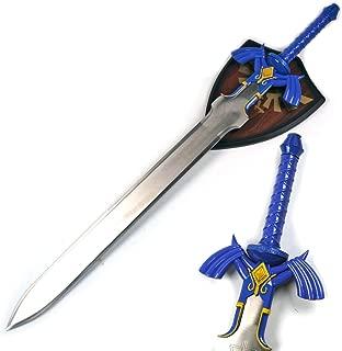 Zelda Link Master Sword Twilight Princess Fantasy Sword with Plaque