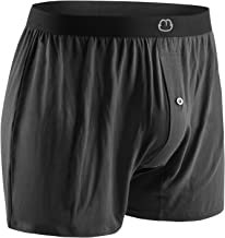 Bamboo Mens Boxers for Men Underwear Shorts - Soft Loose Comfortable Breathable