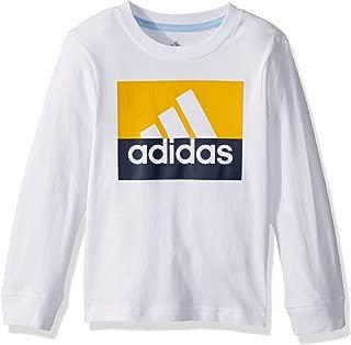Boys' Long Sleeve Cotton Jersey Logo T-Shirt