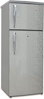 Nikai 170L Double Door Defrost Refrigerator Silver -NRF170DN3M