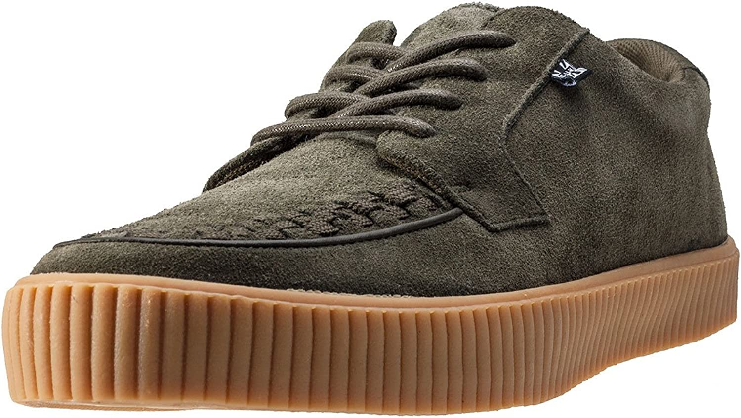 T.U.K. shoes A9255 Unisex-Adult Creepers, Olive Suede EZC shoes
