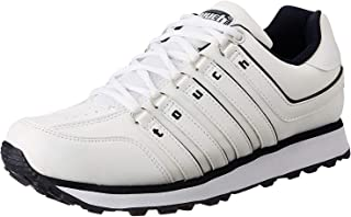 Lakhani Touch 718 Men White/Navy Sports Shoes.