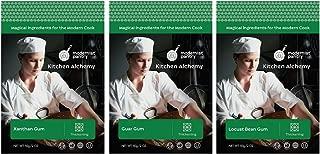 Xanthan Gum + Guar Gum + Locust Bean Gum Value Pack ⊘ Non-GMO ❤ Gluten-Free ☮ Vegan ✡ OU Kosher Certified - 150g/6oz
