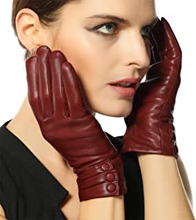 warmen leather touchscreen gloves